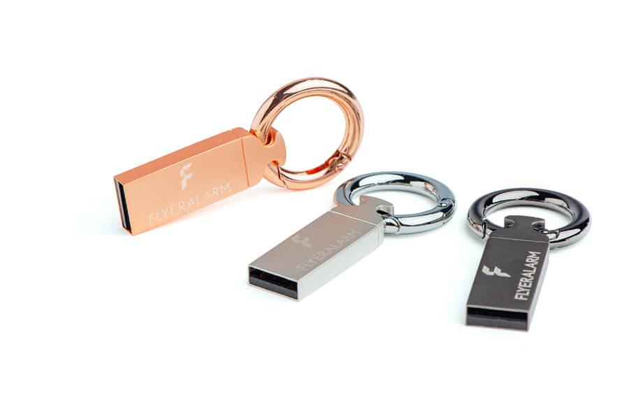 USB-Sticks mit Schlüsselring