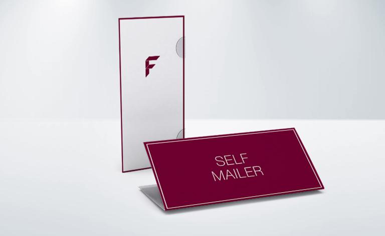 Selfmailer, 4-Seiter, DIN lang