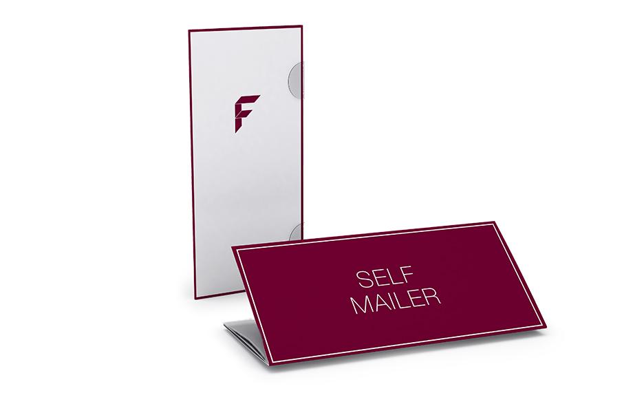 Selfmailer, 8-Seiter, DIN lang
